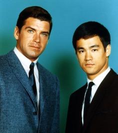 The Green Hornet (ABC) 1966-1967 Shown from left: Van Williams, Bruce Lee